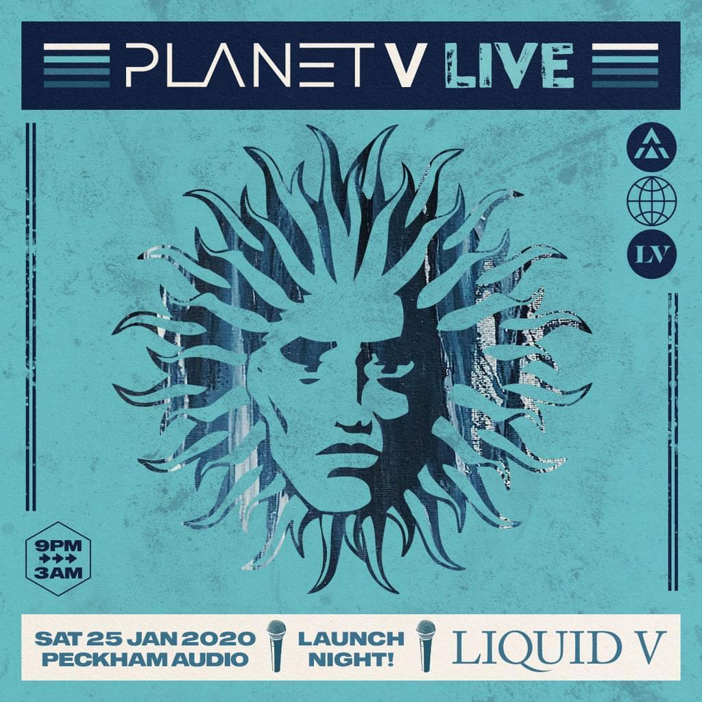 Planet V Live - Launch Night: Liquid V New Concept For Peckham Audio, London