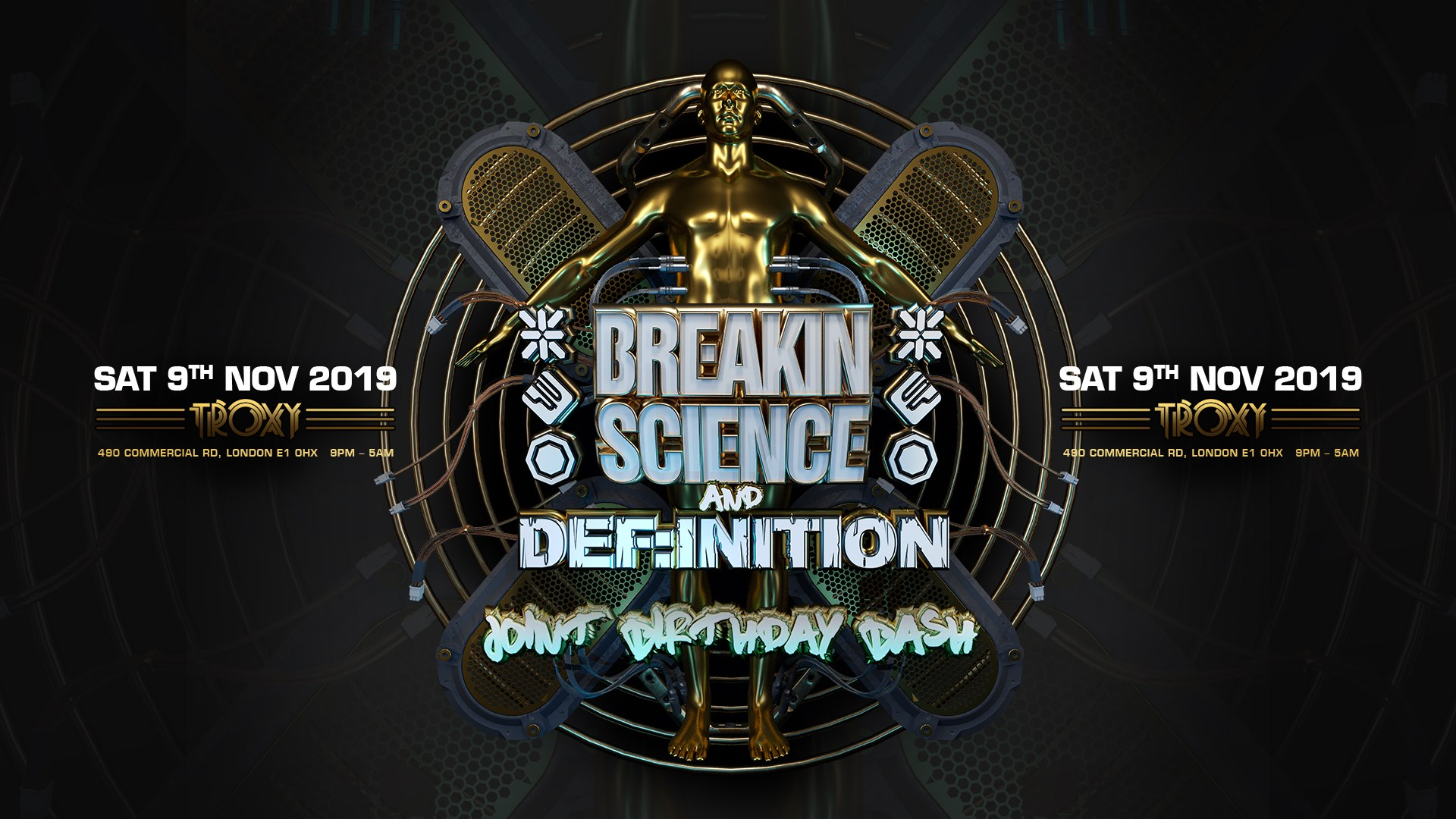 Breakin Science & Def:inition Joint Birthday Bash 2019