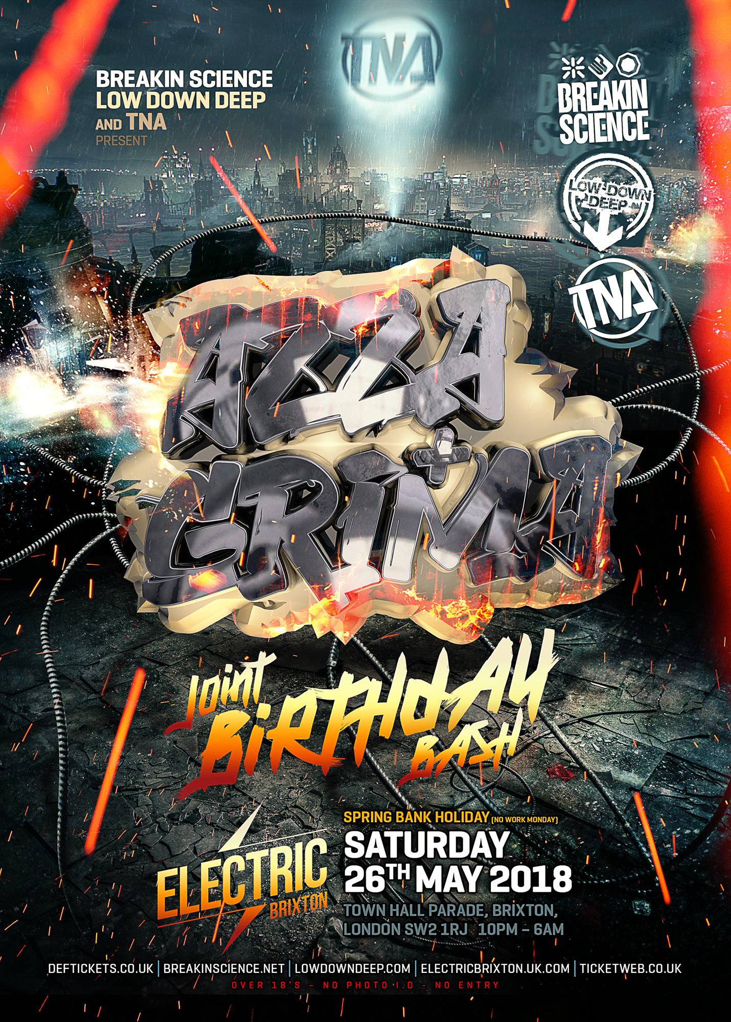 AZZA GRIMA BIRTHDAY BASH