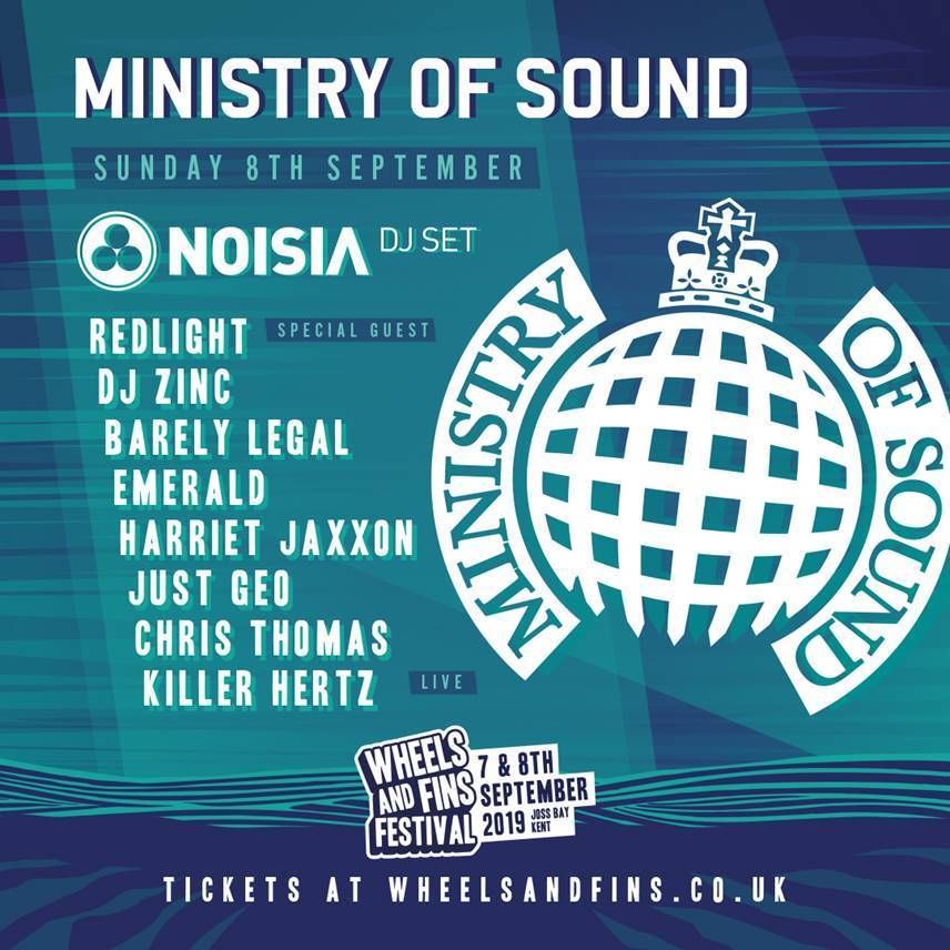 Wheels and Fins Festival Announces Massive Ministry of Sound Takeover