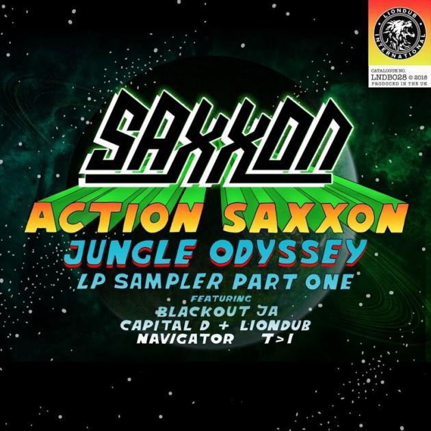 Action Saxxon - Jungle Odyssey Sampler, Pt. 1