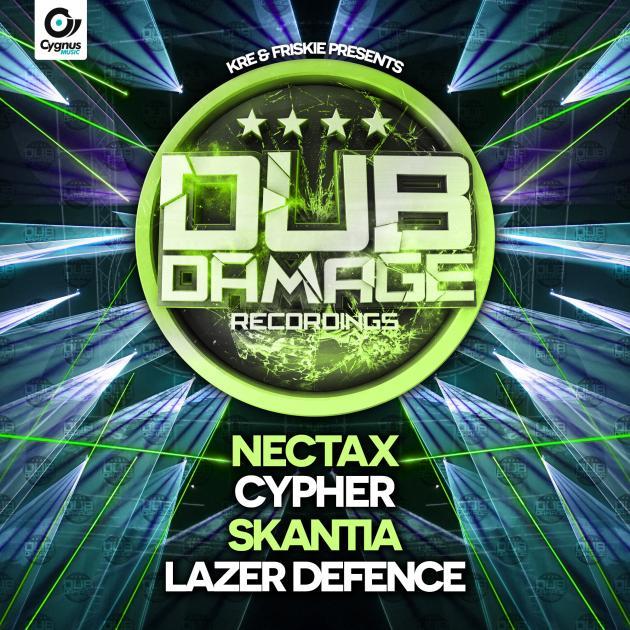 Nectax – Cypher, Skantia – Lazer Defence EP