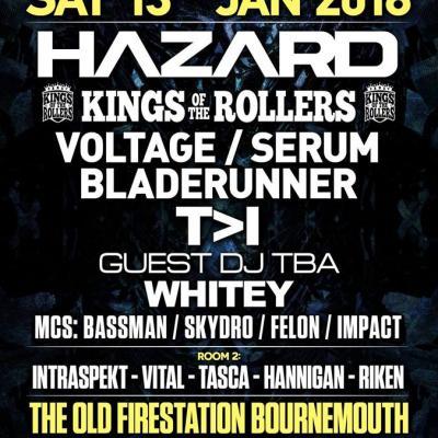 Enter & Drumfunk - Hazard, Kings of the Rollers