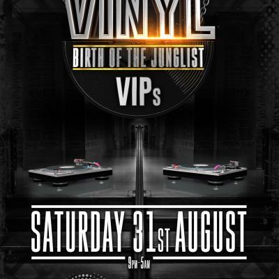 Vinyl VIPs - Birth of the Junglist