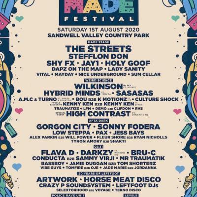 [01/08/20] MADE Festival 2020 Birmingham
