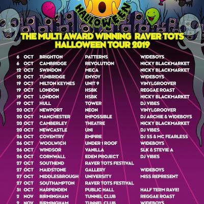 Raver Tots Halloween Tour
