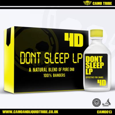 4D - Dont Sleep LP