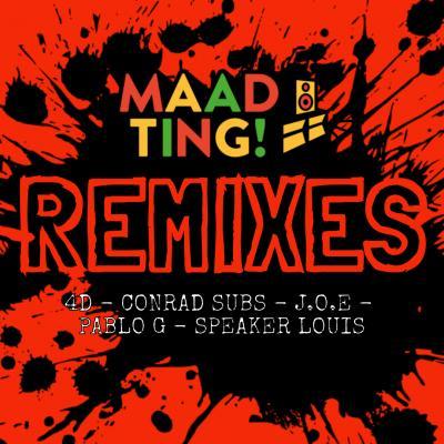 Various Artists - Maad Ting! Remixes EP
