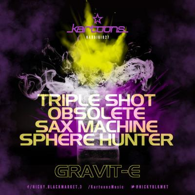 Gravit-E - Tripple shot EP