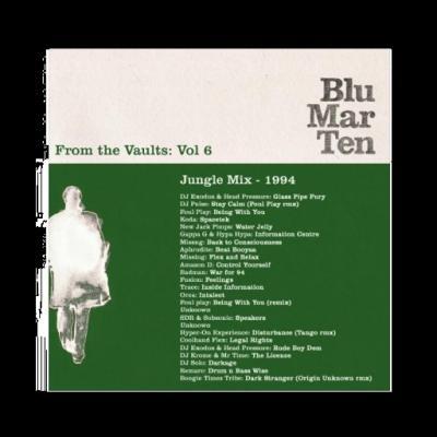 Blu Mar Ten - From the Vaults Vol 6 - Jungle Mix - 1994