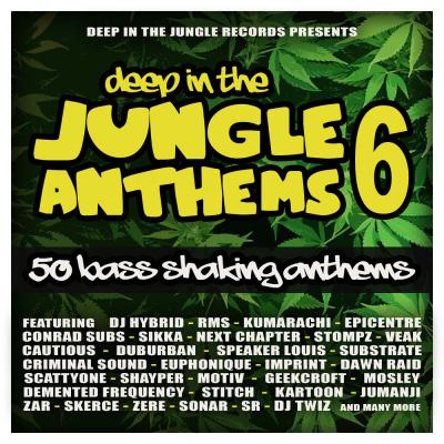 Variuos Artists - Deep In The Jungle Anthems 6 LP