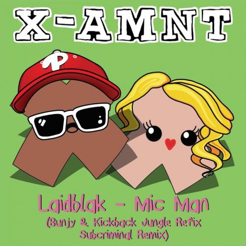 Laid Blak - Mic Man (The Remixes)