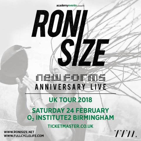 Roni Size _ New Forms Anniversary | Jungle Drum and Bass